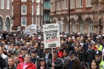 Public Sector Workers Strike Over The Government Austerity Measures