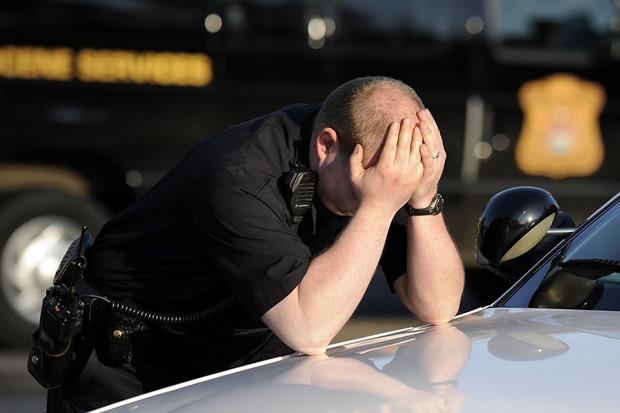 depressed cop